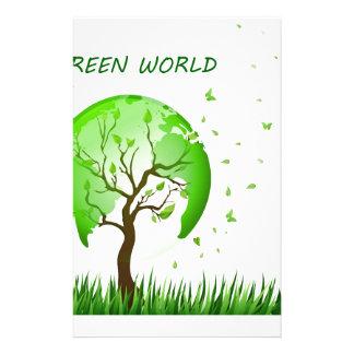 Green World Stationery