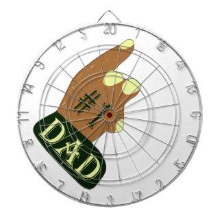 Green Yellow #1 Dad Dart Boards