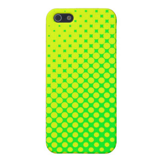 Green & Yellow Fluorescent iPhone Case iPhone 5 Cases