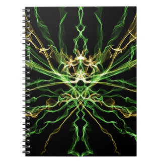 Green & Yellow Graphics Notebook