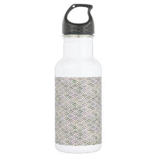 Green Yellow Mermaid Pastel 532 Ml Water Bottle