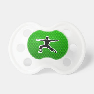 Green Yoga Baby Pacifiers