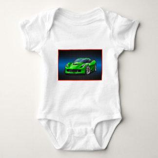 Green_Z06 Baby Bodysuit