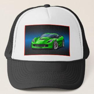 Green_Z06 Trucker Hat