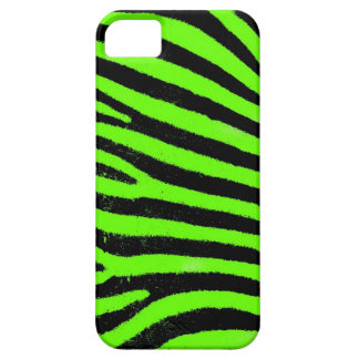 Green Zebra  Barely There™ iPhone 5 Case