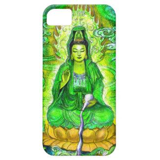 Green Zen Buddhist Goddess Kuan Yin iPhone 5 Case