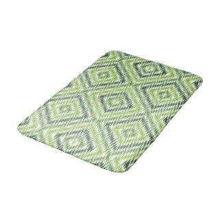 Green Zig Zag Bath Mat