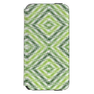 Green Zig Zag Incipio Watson™ iPhone 6 Wallet Case