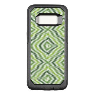 Green Zig Zag OtterBox Commuter Samsung Galaxy S8 Case