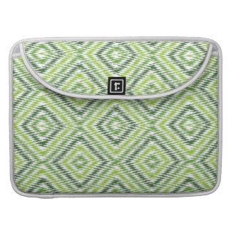 Green Zig Zag Sleeve For MacBook Pro