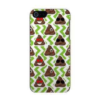 Green ZigZag Poop Pattern Emojis Incipio Feather® Shine iPhone 5 Case