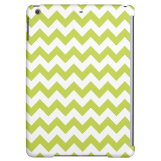 Green Zigzag Stripes Chevron Pattern Case For iPad Air
