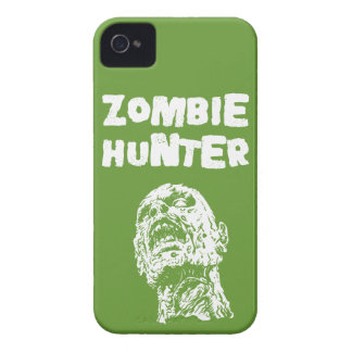 Green Zombie Hunter iPhone 4 & 4s Cover