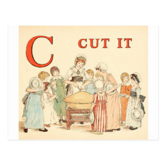Greenaway, Kate Alphabet letter C Postcard