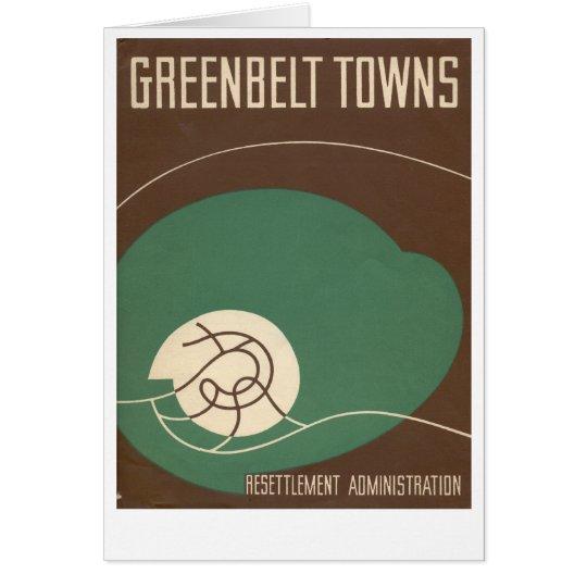 Greenbelt Museum note card