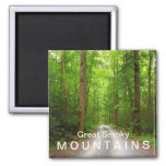 Greenbrier mountain road - Great Smoky Mountains Refrigerator Magnet