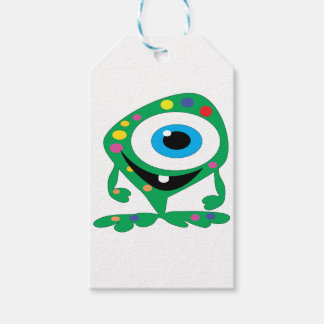 Greendot-Monster Gift Tags