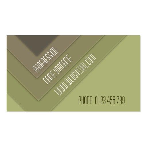 greene business card template