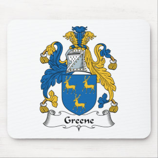 Greene Family Crest Mouse Pad