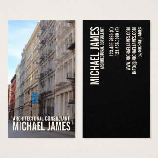 Greene Street SoHo Architecture New York City NYC Business Card