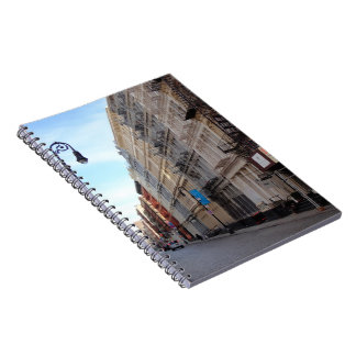 Greene Street SoHo Architecture New York City NYC Spiral Notebook