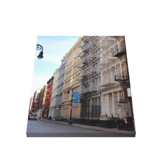 Greene Street SoHo Cast Iron Architecture New York Canvas Print