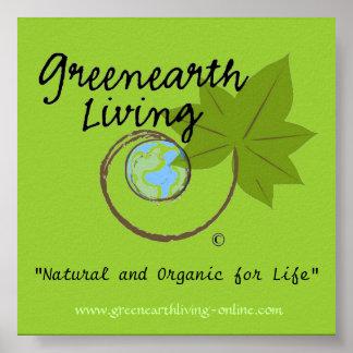 Greenearth Living Poster