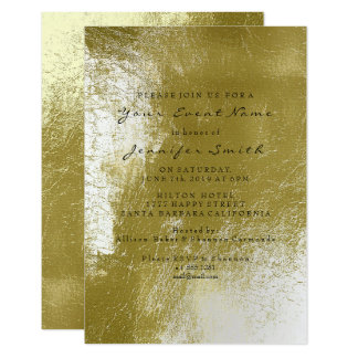 Greenery Green Grass Sage White Metallic Card