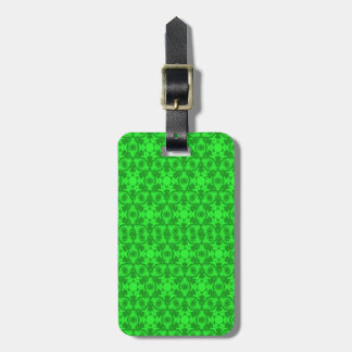 Greenery Kaleidoscope 8075 by celeste@khoncepts.co Luggage Tag