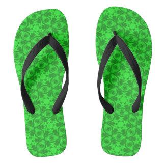 Greenery Kaleidoscope 8075 flip flops