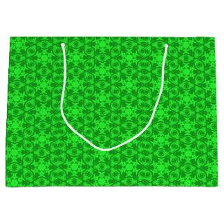Greenery Kaleidoscope 8075 Gift Bag