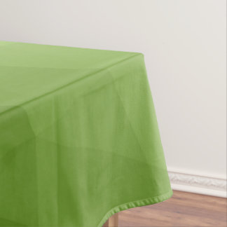 Greenery ombre gradient geometric mesh tablecloth