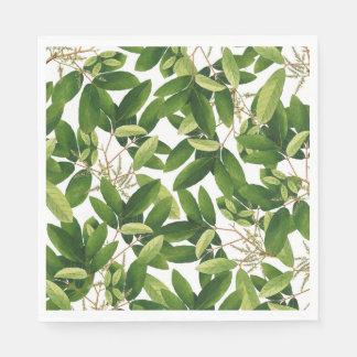 Greenery Paper Napkins