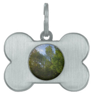 Greenery Pet Tag