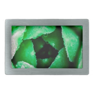 Greenery Rectangular Belt Buckles