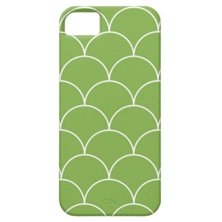 Greenery scales pattern iPhone 5 case