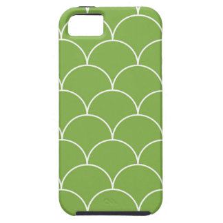 Greenery scales pattern iPhone 5 cover