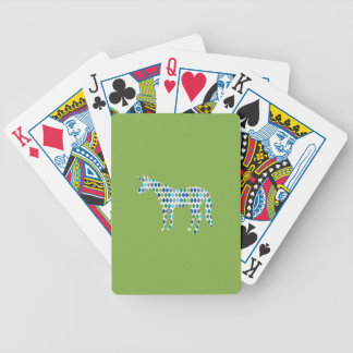 Greenery Unicorn Bicycle Playing Cards