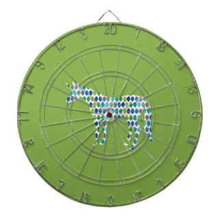 Greenery Unicorn Dartboard