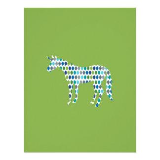 Greenery Unicorn Letterhead