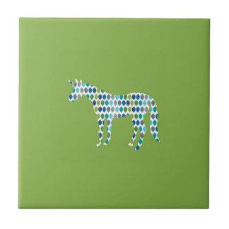 Greenery Unicorn Tile