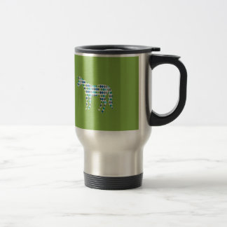 Greenery Unicorn Travel Mug