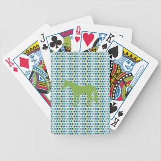 Greenery Unicorn V02 Bicycle Playing Cards