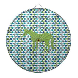 Greenery Unicorn V02 Dartboard