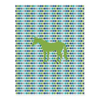 Greenery Unicorn V02 Postcard