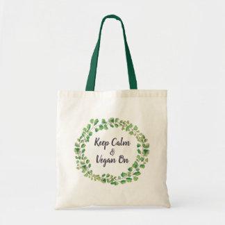 Greenery wreath Tote- Adiantum Tote Bag