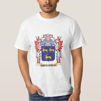 Greenfield Coat of Arms - Family Crest T-Shirt
