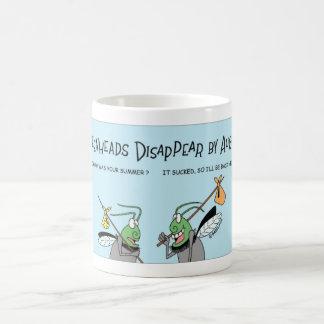 Greenheads disappear coffee mug