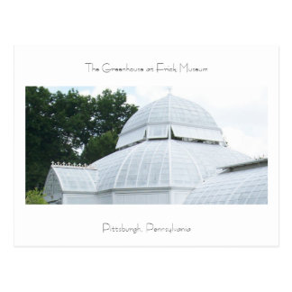 Greenhouse at Frick Museum Postcard