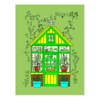 Greenhouse Postcard